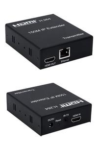 Image 3 - 150M HDMI IP Extender a través de RJ45 red Ethernet Cat6 Cat 6 6a Cable de extensión 1 TX 50 RX transmisor receptor IR UTP/STP