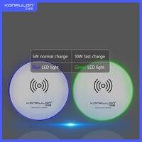 Carregador sem fio usb para celular  carregador wireless para telefone móvel q06
