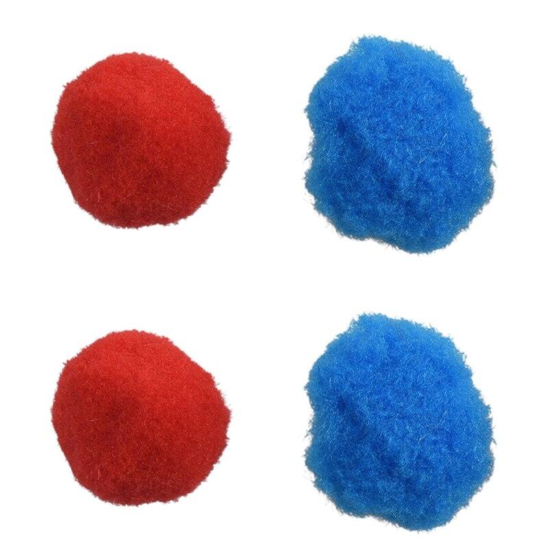 200Pcs Mixed Color Soft Fluffy Pompoms For Kids Crafts, 100Pcs 30Mm & 100Pcs 20Mm