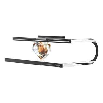 Trasparente Mount Camera Da Letto Completamente Acrilico Stand Audio Risparmio di Spazio Magnetico Stabile Table Top Resistente All'usura Per Amazon Echo Mostra 5