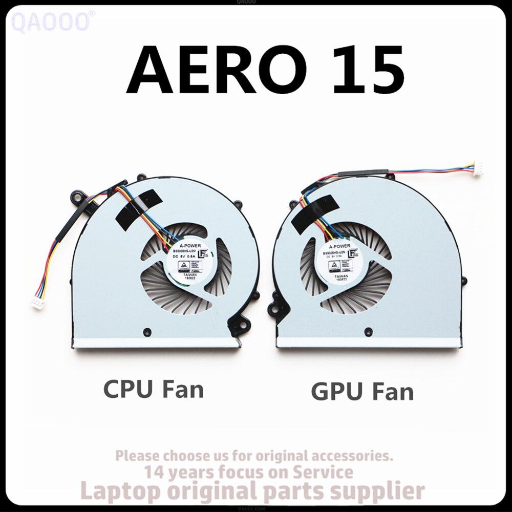 Новый вентилятор для процессора RP65W, для Gigabyte Aero 15 15X 15 X9 15 Вт 15Y9 RP65SA, вентилятор для охлаждения ЦП и ГПУ