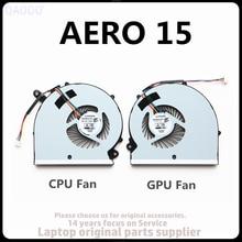 Novo ventilador da cpu para rp65w BS505HS-U2M para gigabyte aero 15 15x 15 x9 15 w 15y9 rp65sa cpu & gpu ventilador de refrigeração