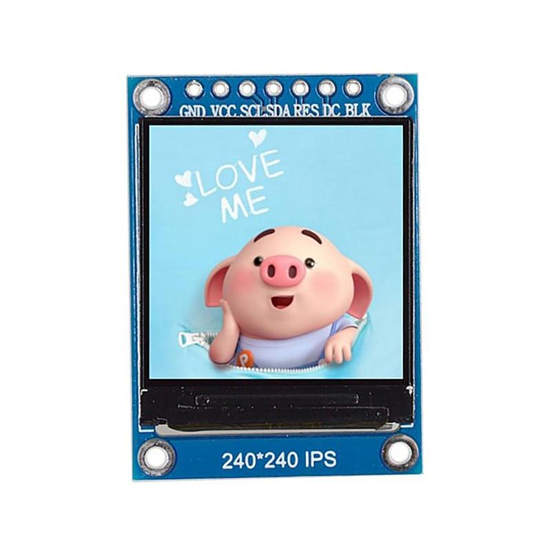 BEST1.3 Inch Ips Hd Tft St7789 Drive Ic 240 X 240 Spi Communication 3.3V Voltage Spi Interface Full Color Tft Lcd Display