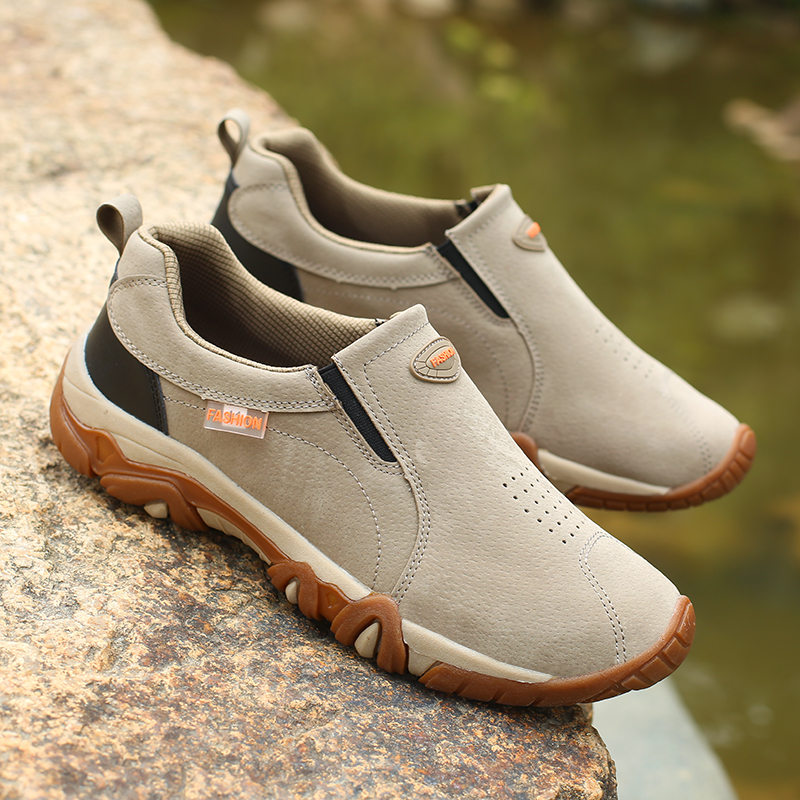 Fashion Slip-on Men Shoes Top Quality Breathable Mesh Men Sneaker Zapatos De Hombre Outdoor Footwear Shoes Male Large Size 39-44
