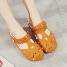Garden Sandals Clogs Summer Women Slippers Swimming-Jelly-Shoes Beach-Shoes Fashion