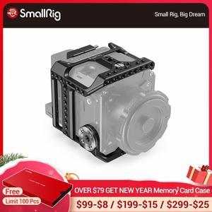 Image 1 - SmallRig Камера клетка для Z CAM E2 S6/F6/F8 Корпус для цифровой зеркальной камеры с рельс NATO/интегрированный ARRI Rosette/HDMI & USB C хомут для кабеля реечная оснастка корзины 2423