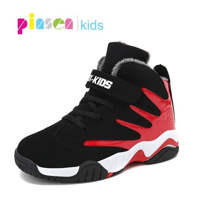 PINSEN 2020 Outono Sapatas Dos Miúdos Para Meninos Tênis Meninas Sapatos de Desporto Criança Lazer Tenis Infantil Quente Casual Executando Sapatos Crianças