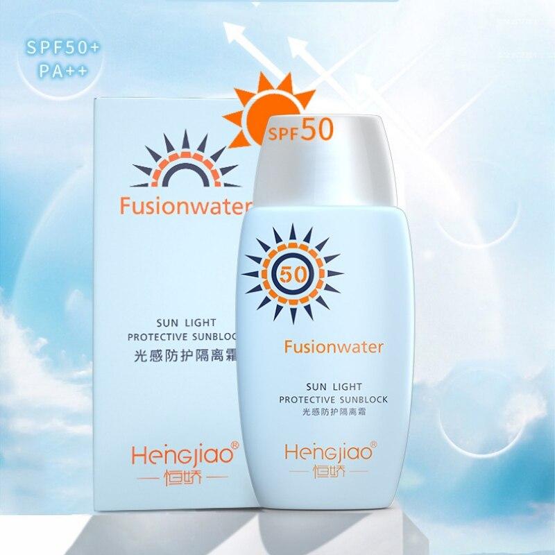 SPF 50++ Light Protection Sunscreen Cream Refreshing Non-Greasy Facial  Protection