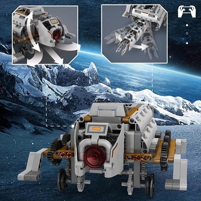 MOULD KING 15050 The APP RC Motorized Uranus Heka Model Building Blocks