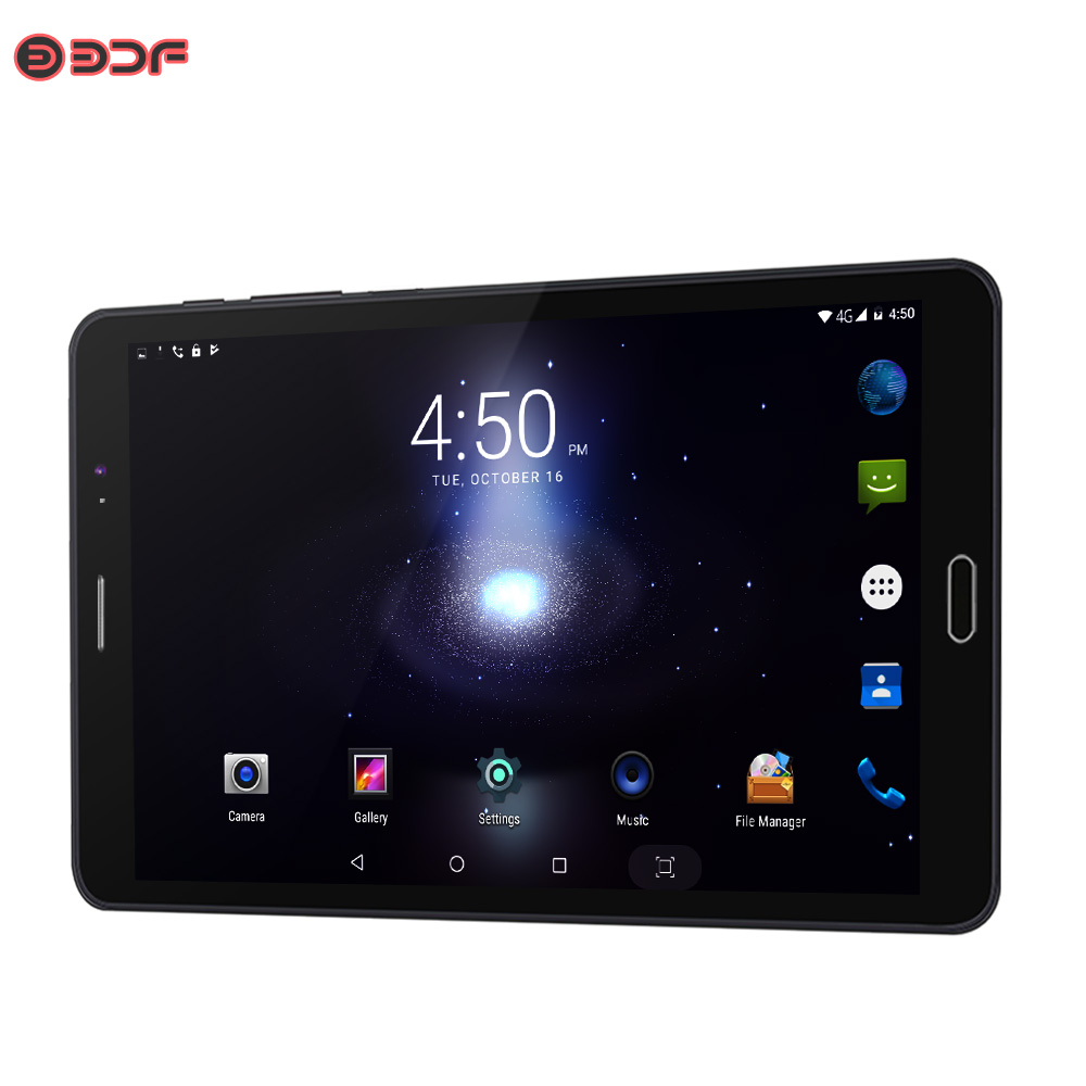 8 Inch Tablet Pc Android 6.0 Quad Core Google Play WiFi Bluetooth 1280*800 IPS Tablets Dual Camera Dual SIM Card