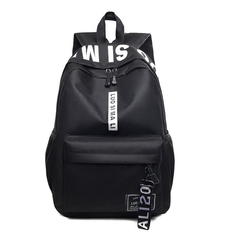 Backpack For Women 2019 Classic Waterproof Mini Mochila Feminina Girls Student School Bags Unisex Computer Travel Backpack image