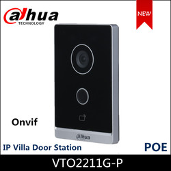 Nieuwe Dahua VTO2211G-P Video Intercoms Outdoor Station Poe Ontwerp Twee-Weg Audio En Gesprek Via App Ip Villa deur Station