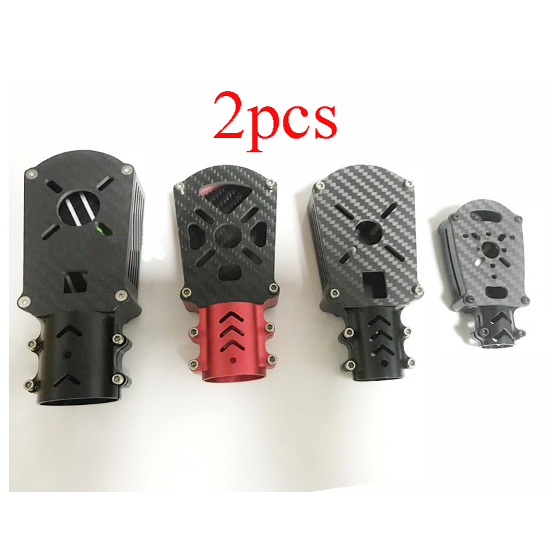 2PCS Aluminum Alloy D16/25/30/35mm Motor Seat Carbon Tube Fixed  Mount Connector Holder Bracket Base for RC Plant UAV DroneParts & Accessories   -