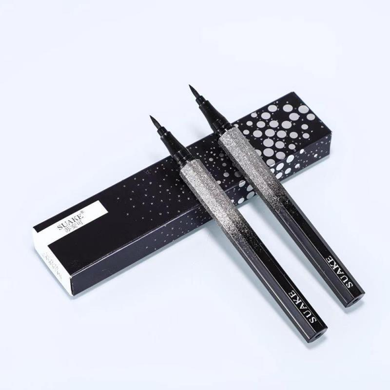 1PC Black Long Lasting Eyeliner Pencil Waterproof Smudge-Proof Quick-drying NO Blooming Cosmetic Makeup Eyeliner Pencil TSLM2