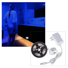 5M LED Unter Kabinett Licht 12V LED Küche Lampe mit PIR Motion Sensor IP65 Wasserdichte Flexible Diode Band licht Schlafzimmer Treppen
