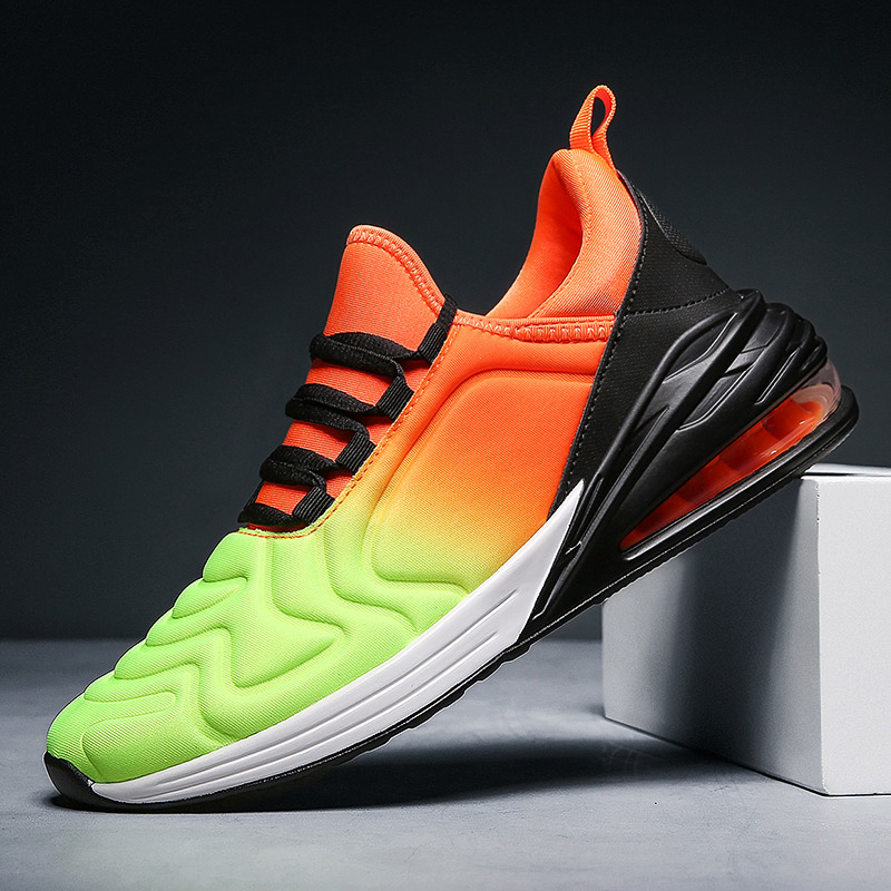 Women Sports Running Shoes Air Cushion Athletic Shoes Sneakers Men Trainers Walking Jogging Shoes Man Max Size 46 Brand Sneakers