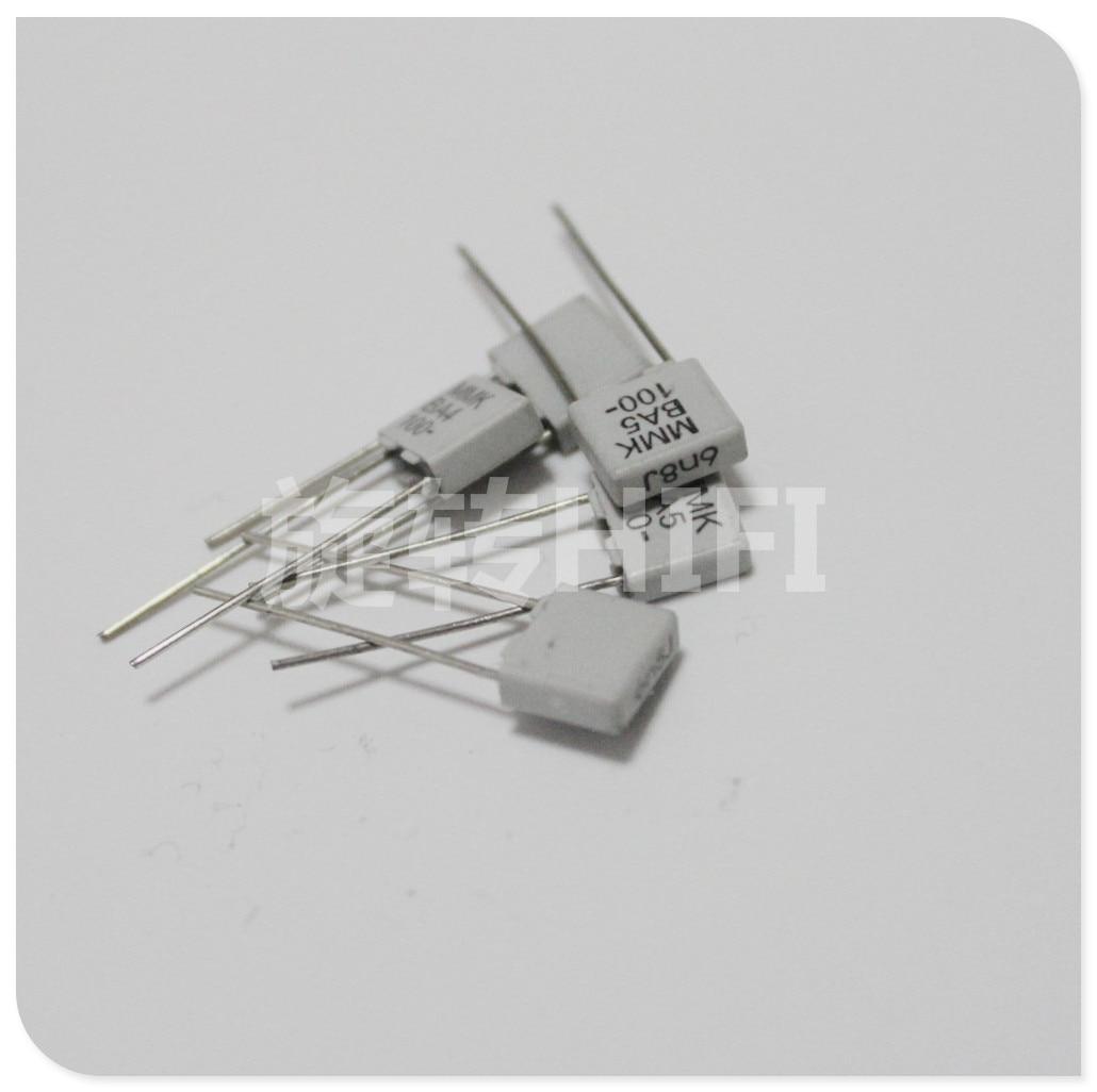 20PCS NEW EVOX MMK5 6800PF 100V P5mm Film Capacitor MMK 682/100V Audio 682 Hot Sale 6800p 6.8NF/100V 6N8