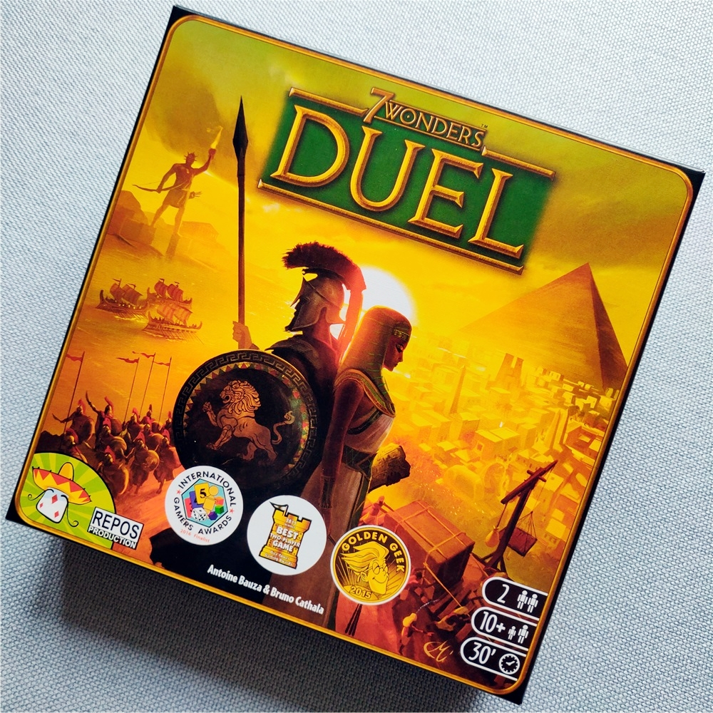 NEW 7Wonders Duel 7 Wonders Of The World Board Game Expansion Pack