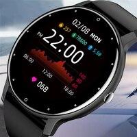 2021 neue Ultradünne Smart Uhr Männer 1,3 zoll Full Touch Sport Fitness Uhr IP67 Wasserdichte Bluetooth Antwort anruf Smartwatch frauen