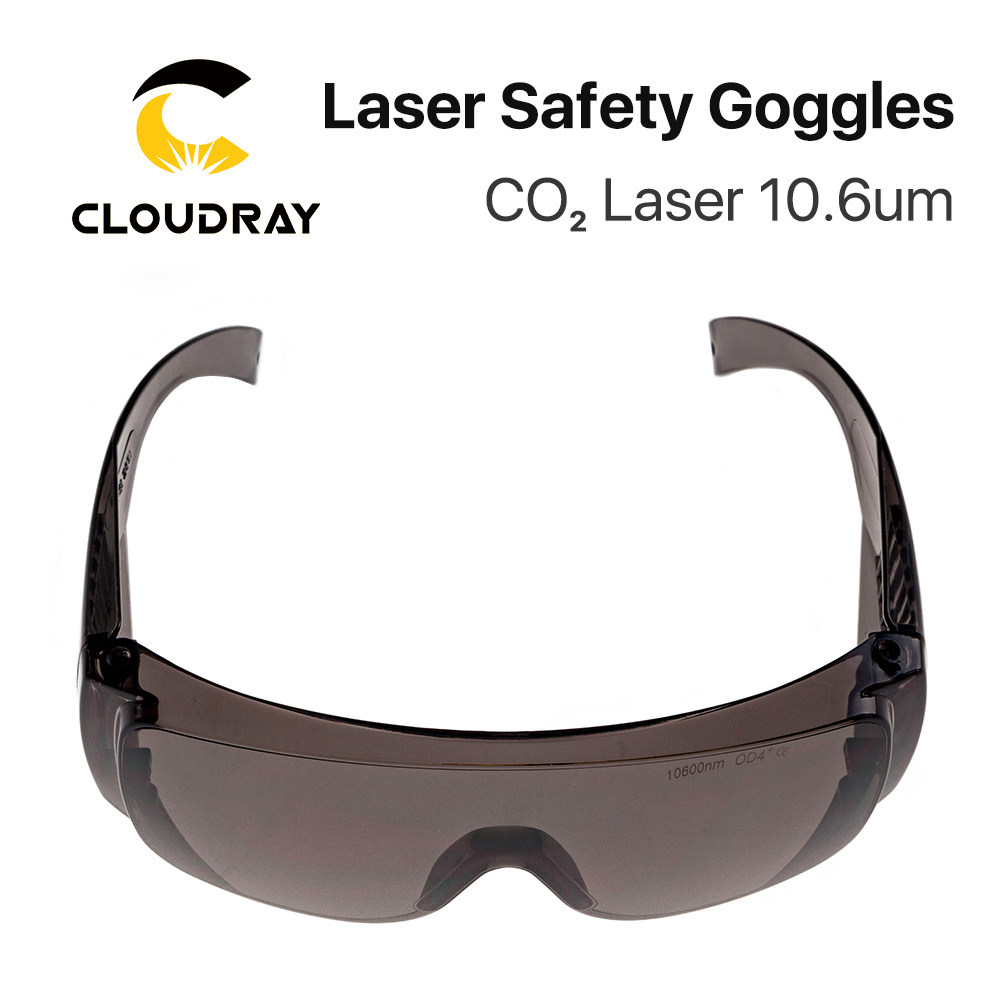 Cloudray 10600nm Laser Safety Goggles Style B Shield Protection OD4+ CE For CO2 Laser Cutting Engraving Machine