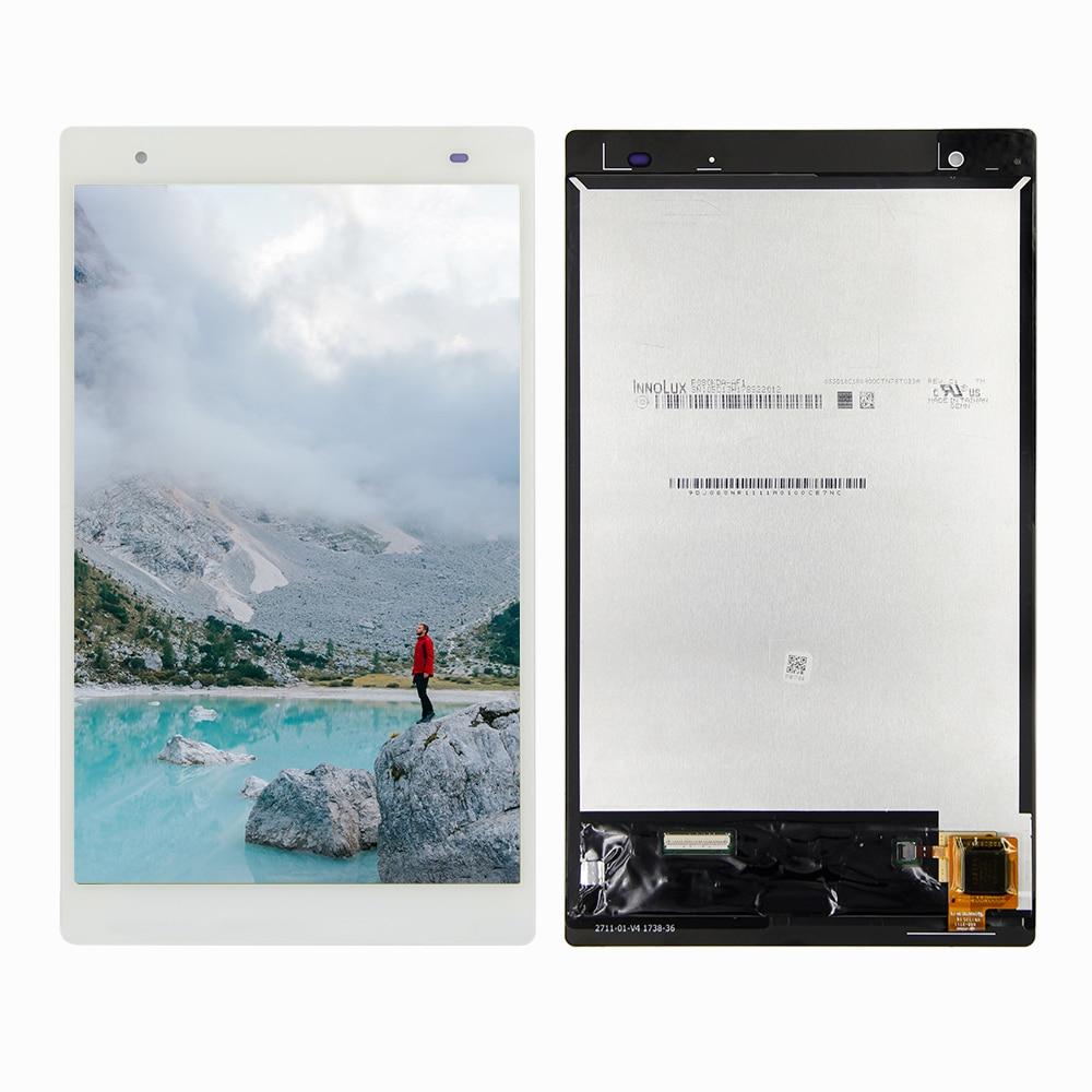 """Bilgisayar ve Ofis'ten Tablet LCD'ler ve Paneller'de 8.0 """"LCD Lenovo Tab 4 artı 8704X TB 8704V TB 8704X TB 8704F TB 8704N TB 8704 dokunmatik lcd ekran ekran cam sensörü montaj title="""