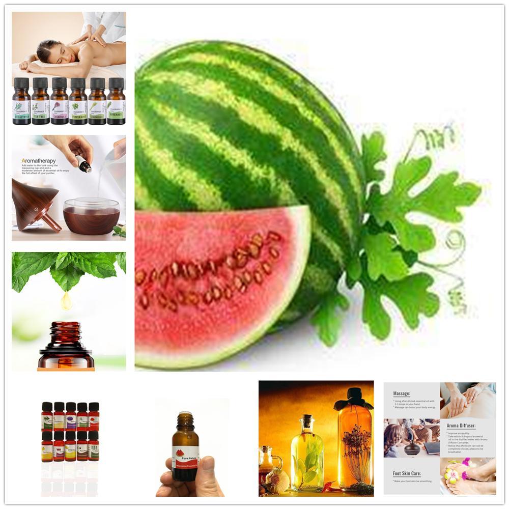 Natural Flavor Essence For Handmade Cosmetic Lip Gloss Base Lipgloss DIY Food Grade Watermelon Fragrance Essential Oil 10 Flavor