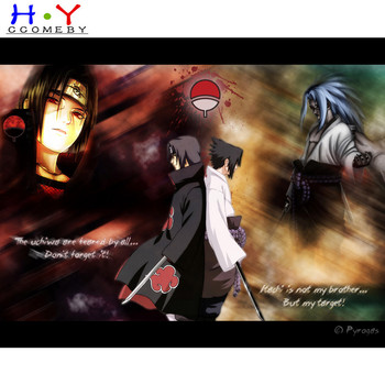 5D DIY diamond painting cartoon Japan Anime Naruto diamond embroidery rhinestone cross stitch painting diamond Home decor image