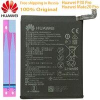 Hua Wei Original Ersatz Telefon Batterie HB486486ECW 4100/4200mAh Für Huawei P30 Pro Mate 20 Pro Echtem Telefon batterie