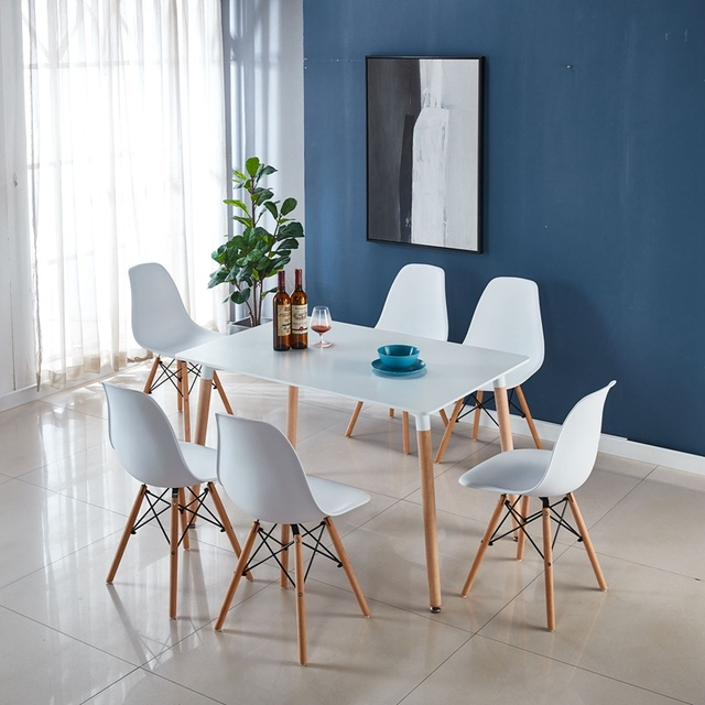 Table & 6 Chairs Set  1