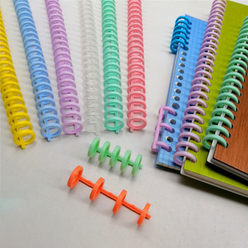 5pcs 13mm 30 Hole Binding Rings A4/A5/B5 Loose-leaf Strip Plastic Spiral Notebook Clip Office Buckle Stationery Office Supplies
