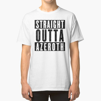 Camiseta para jugador de Mmorpg con actitud, personaje Wow de vainilla, selección...