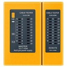 HDMI High-Definition Digital Kabel Tester Tragbare RJ45 Kabel Tester Tracker