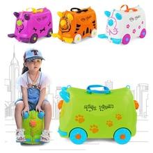 Модная детская коляска для путешествий, разноцветный чехол для костюма с изображением животных, Жесткий Чехол для детей, чехол для костюма, белый, зеленый, для хранения детей