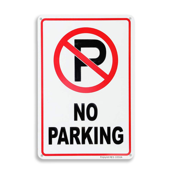 Нет парковки знак наклейки на стену дома Декор стены искусства картина «металлические номерные знаки» металла плакат металлическая жестян...