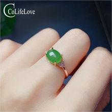 Ювелирные изделия colife простое серебряное кольцо из яшмы 925