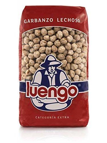 Luengo - Garbanzo Blanco Lechoso En Paquetes De 1 Kg