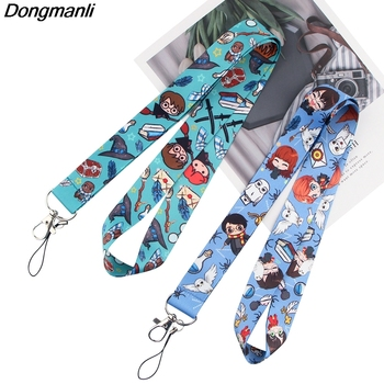 P3089 Dongmanli Magical school Lanyard Badge ID Lanyards/ Mobile Phone Rope/ Key Lanyard Neck Straps Accessories dmlsky kiki s delivery service lanyard keychain anime lanyards for keys badge id mobile phone rope neck straps gifts m3865