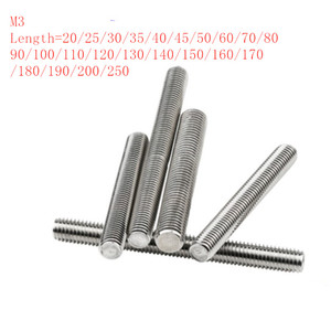 10pcs/lot M3 Stainless steel f