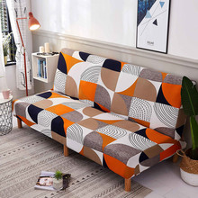 All inclusive Stretch Sofa Cover Spandex Sofa Covers for Living Room Tight Wrap Armless Sofa Bed