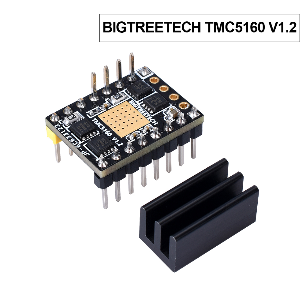 BIGTREETECH TMC5160 V1.2 SPI Stepper Motor Driver High Power Mute Driver 3D Printer Parts For SKR V1.3 PRO Board Reprap TMC2130