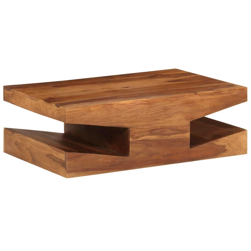 VidaXL Coffee Table Solid Sheesham Wood 90x60x30 Cm