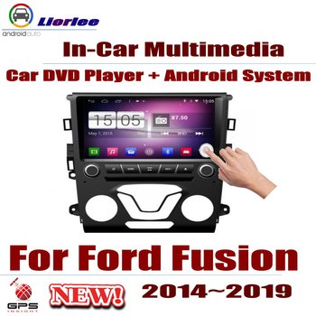 Car Radio DVD Player GPS Navigation For Ford Fusion 2014~2019 Android HD Displayer System Audio Video Stereo In Dash Head Unit