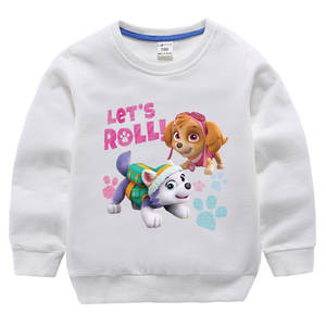 Hoodie Shirt Coat Patrol Neck-Base Long-Sleeve New-Products Baby Children Women 100%Cotton