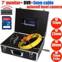 23mm 17mm 23mm 512hz sonda à prova dwaterproof água endoscópio industrial sistema de vídeo subaquático tubulação inspeção de parede esgoto câmera 7