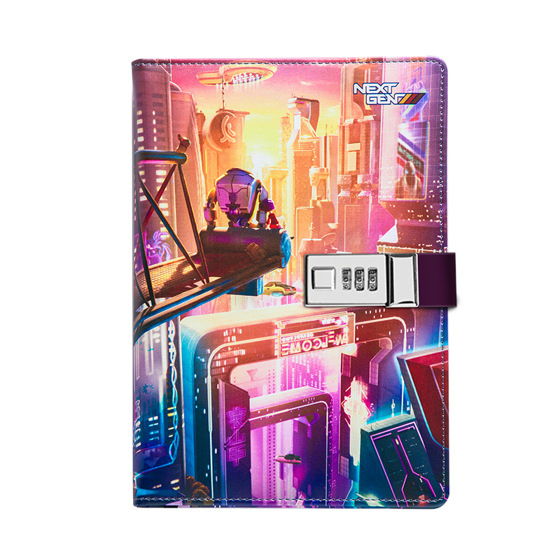 2020 Agenda Planner Cloth PU Leather Color Change Codebook Notebook A5 Anime Journals Notebooks Diary Book Business Notepads