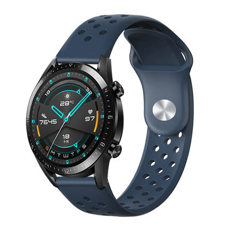 Quick Release Silicone Rubber Watchband 22mm for Huawei Watch 2 Classic Pebble Time / Steel <font><b>Moto</b></font> <font><b>360</b></font> 2 46mm <font><b>Band</b></font> Wrist Strap image