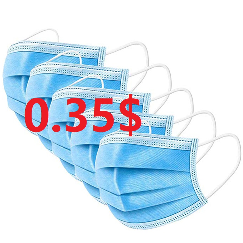 1000pcs   CE Certification Face Mask Anti Influenza 95  Mouth Mask Same Protective As F94