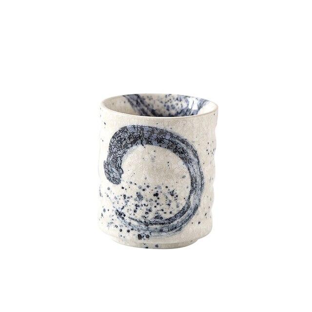 ANTOWALL tasse à thé en céramique de Style japonais | Kungfu coréen peinte à la main, tasse à thé tasse à thé
