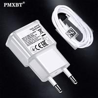 Cable USB C para cargar teléfono móvil inteligente Samsung, adaptador de pared con función de carga rápida tipo C para Samsung S8, S9 plus, Note 8, 9, C5, 7, 9, A3, A5 y A7