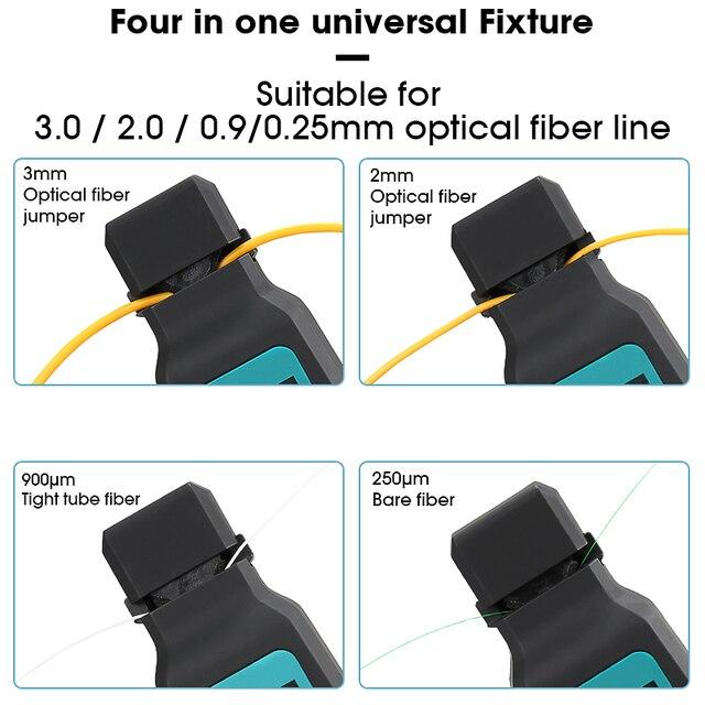Identificateur optique en direct de Fiber didentificateur optique de Fiber de AUA-40 de COMPTYCO avec construit dans le localisateur visuel de défaut de 10mw 750-1700nm SM MM